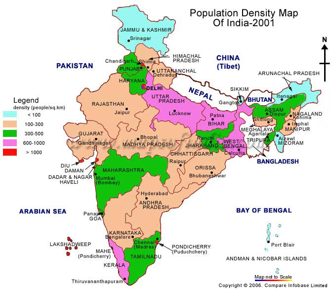 short essay on population of india